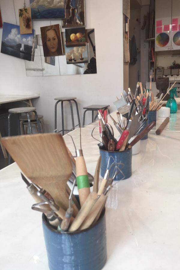 Ateliers de l'Etoile - Sculpture : matériel