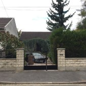Portail et clôture réalisés sur mesure
