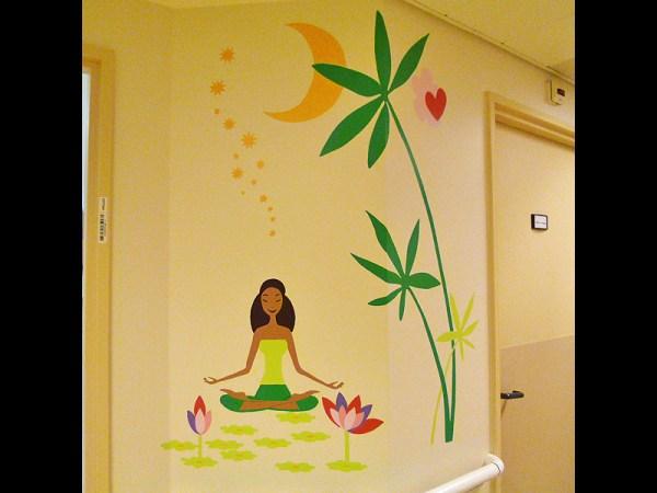 FRESQUE-asie-elephant-fleur-lotus-yoga-enfant-toulouse-hopital-décoration-3