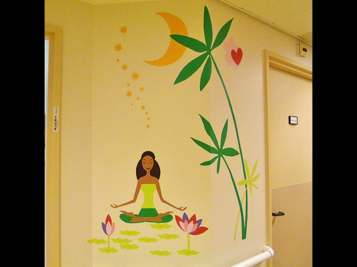 FRESQUE-asie-elephant-fleur-lotus-yoga-enfant-toulouse-hopital-décoration-3