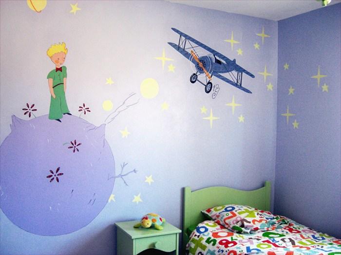 FRESQUE-enfant-prince-terre-astre-etaoile-avion-toulouse-1