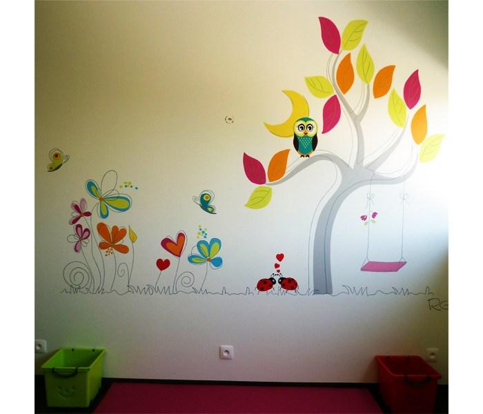 FRESQUE-pediatre-enfant-nature-toulouse-girafe-1