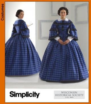 Simplicity 3727 - Second Empire