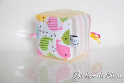 Cubi di stoffa / Baby soft block