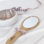 Specchietto in legno