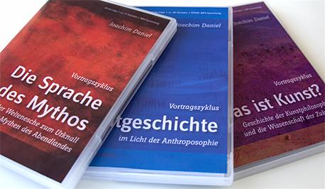 DVD-Cover-Layout - Joachim Daniel - Vortragszyklen