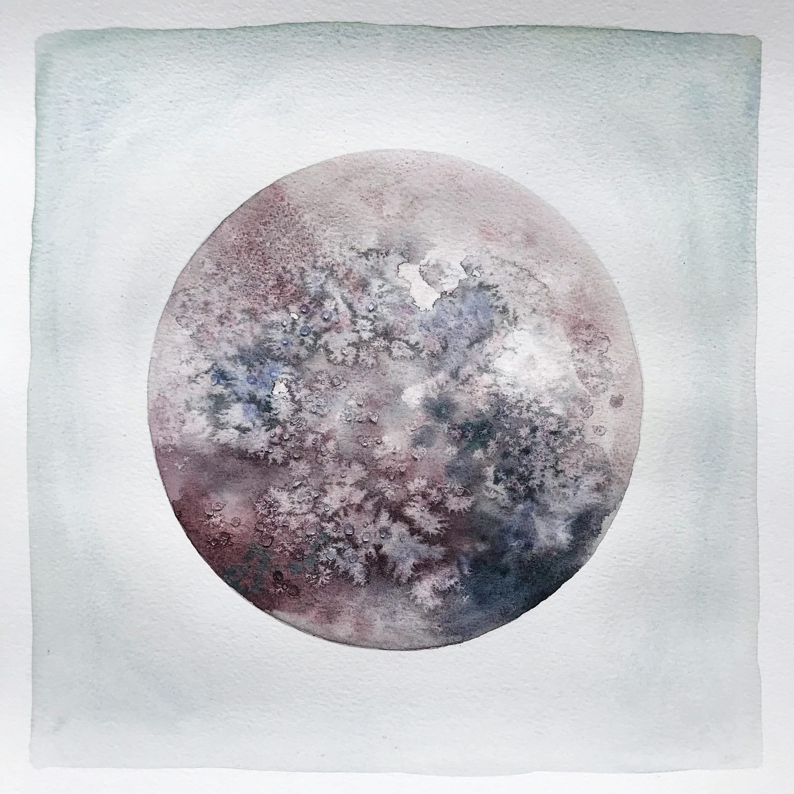 Moon painting Square 1
