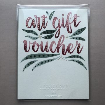 Art Gift Voucher - wrapped