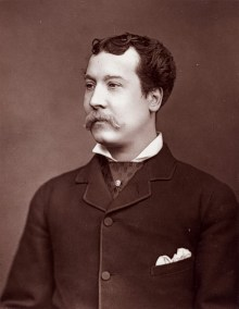 Mr. Charles Lickfold Warner (10 October 1846 – 12 February 1909)
