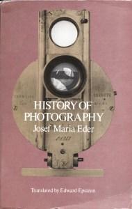 Josef Maria Eder, History of Photography