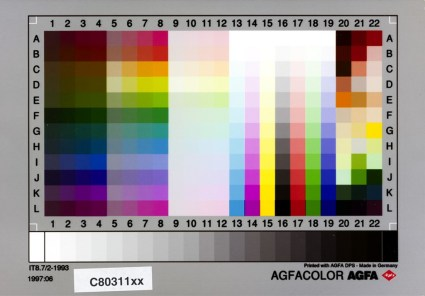 Agfa Agfacolor IT8.7/2-1993 1997:06 C80311xx