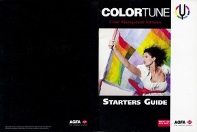 Agfa ColorTune Color Management Software Starter Guide