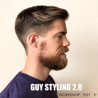 Guy Styling 2.0 Workshop