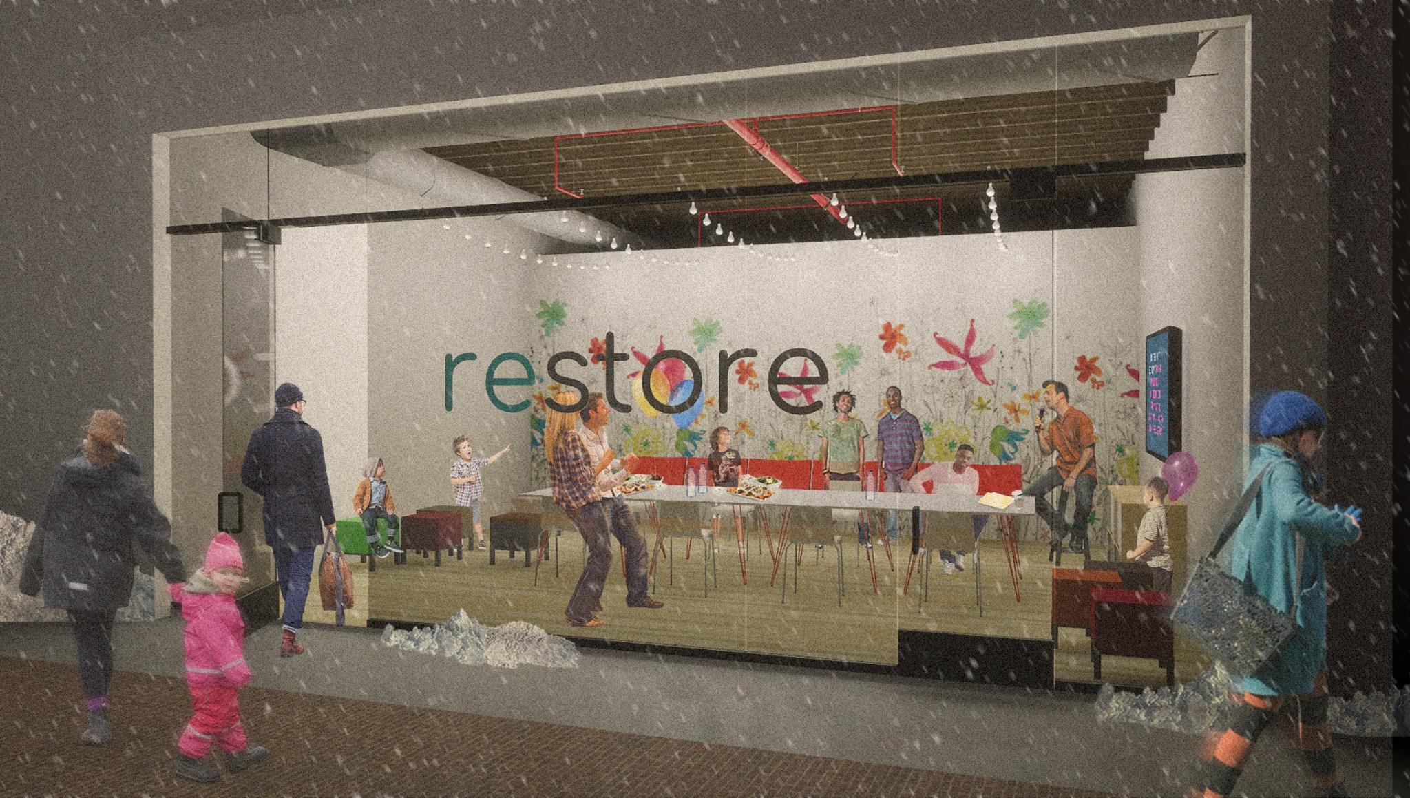 RESTORE rendering