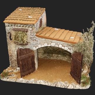 décors de crèche – Santons – étable 3 bis – Aubagne.jpg