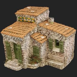 décors de crèche – Santons – maison de village 8 – Aubagne.jpg