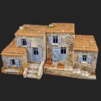 Maison de village ensemble mv4 mv5 de Provence – Atelier de Fanny – Santon – Santons – Décors de crèche – Aubagne – Provence – Crèche de Provence – Santon de provence.jpg