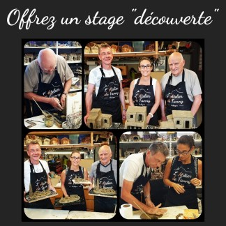 """Offrez un stage """"découverte"""" de l'Atelier de Fanny"""