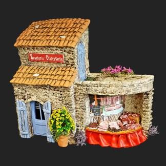 boucherie – charcuterie – atelier de Fanny – Aubagne -provence – santon de provence -santon – décors de provence – décors de crèche – crèches de Provence- accessoire de Provence -artisan – made in france – france