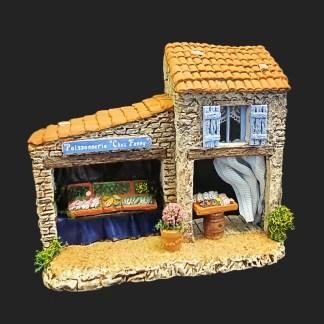 lier de Fanny – Aubagne -provence – santon de provence -santon – décors de provence – décors de crèche – crèches de Provence- accessoire de Provence -artisan – made in france – poissonnerie – poissonnière