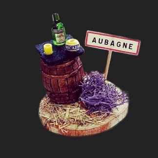 souvenie d'Aubagne en Provence – atelier de Fanny – Aubagne -provence – santon de provence -santon – décors de provence – décors de crèche – crèches de Provence- accessoire de Provence -artisan – made in france – france 2