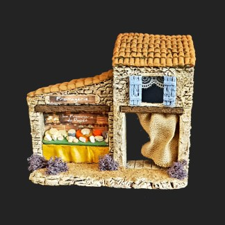la fromagerie du papet d'Aubagne en Provence – atelier de Fanny – Aubagne -provence – santon de provence -santon – décors de provence – décors de crèche – crèches de Provence- accessoire de Provence -artisan – made in france – france