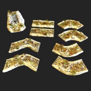 morceaux rivière de provence pour votre décors de crèche