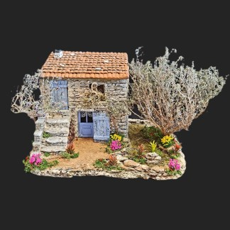 cabanon de provence – santon de provence -santon – décors de provence – décors de crèche – crèches de Provence- accessoire de Provence -artisan – made in france – france