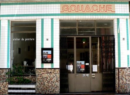 Vitrine Gouache