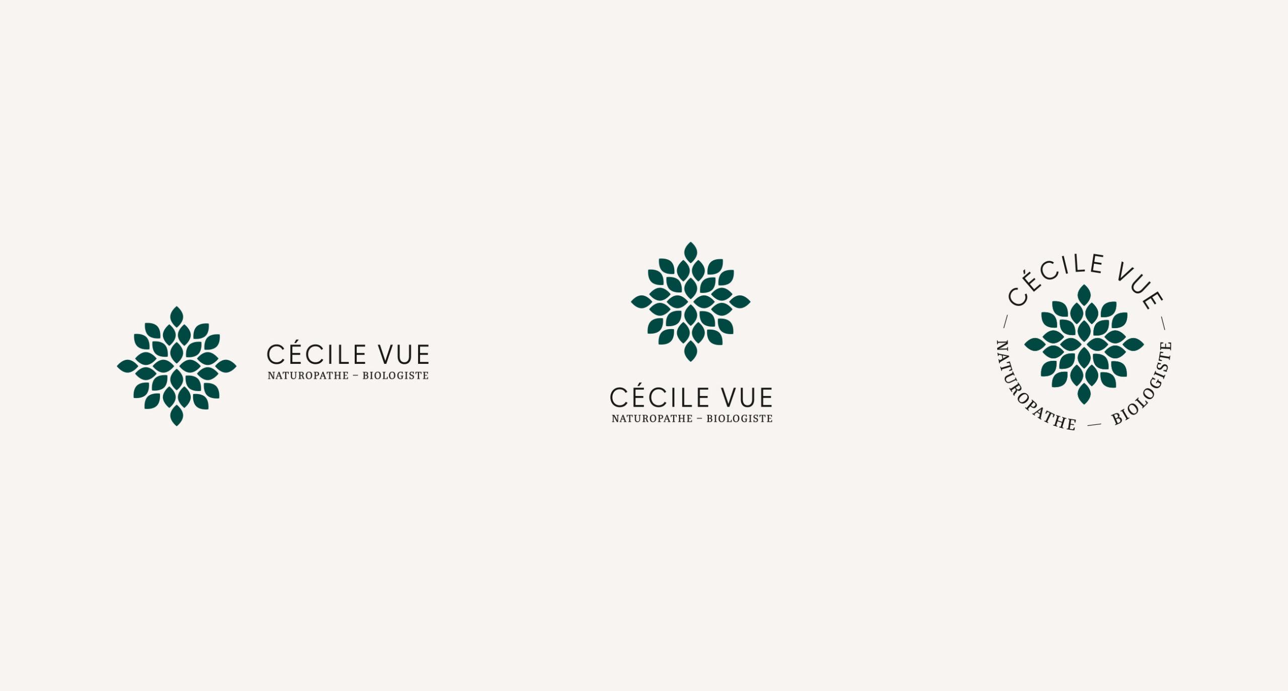 Déclinaison logos Cécile Vue