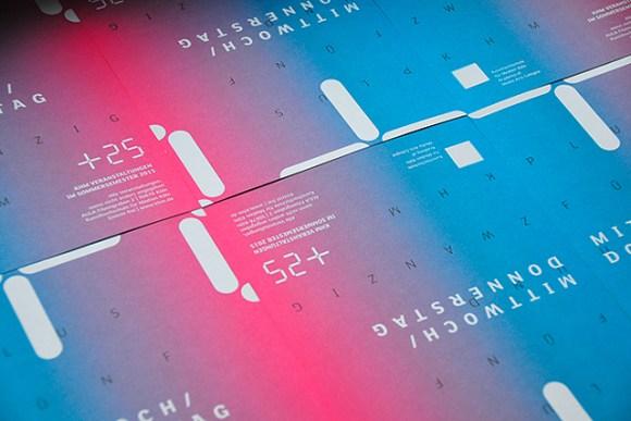 Visual Identity | Einladungskarte | Verantsaltungsprogramm