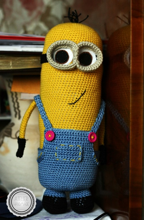 minion crosetat bumbac