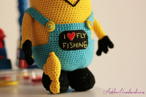 fly-fishing minion