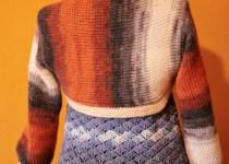 bolero shrug tunisian crochet