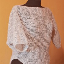 handmade knitted top