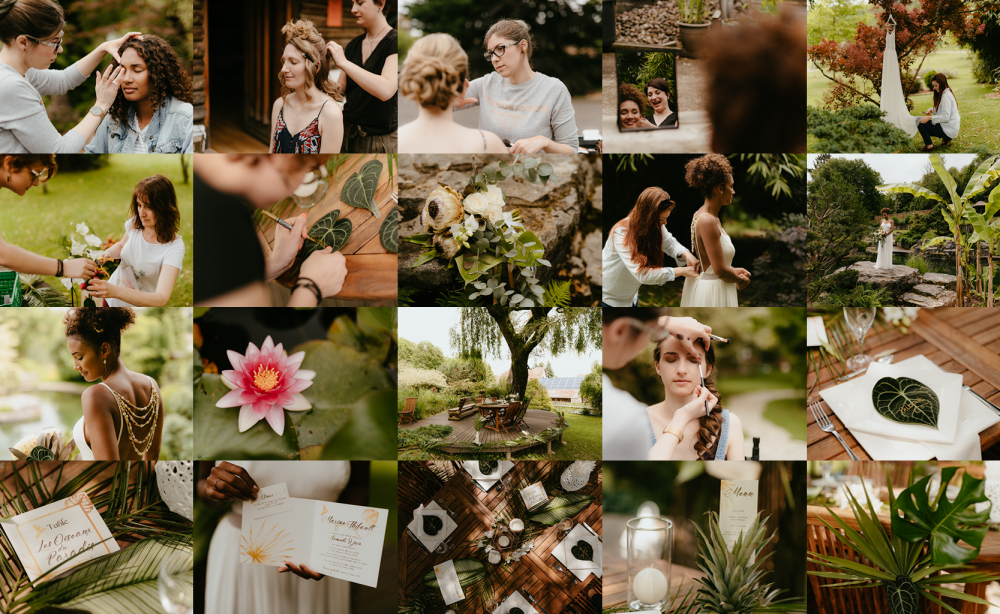 Mariage inspiration tropicale