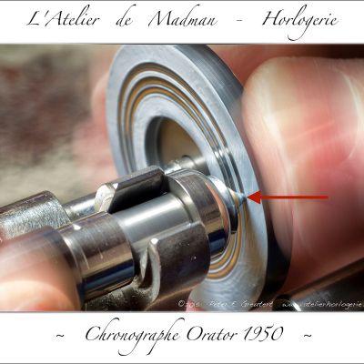 Le polissage est manuel, avec des abrasifs de plus en plus fin. En dernier on utilise une roue en buis.