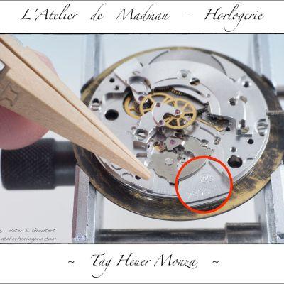 """Identification du """"Calibre 6 Tag"""" : ETA 2895-1"""