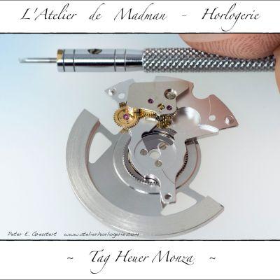 Réassemblage et huilage du module automatique.