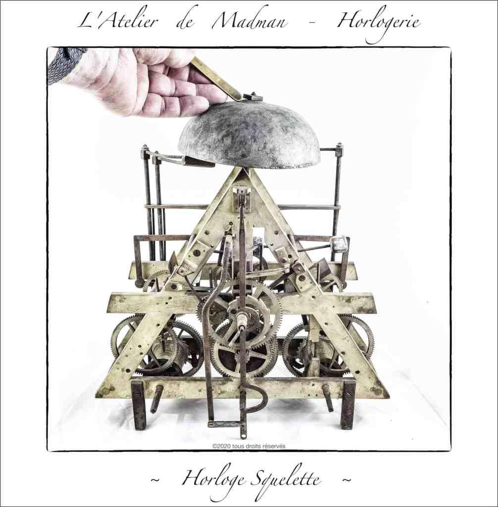 Horloge squelette - vers 1830