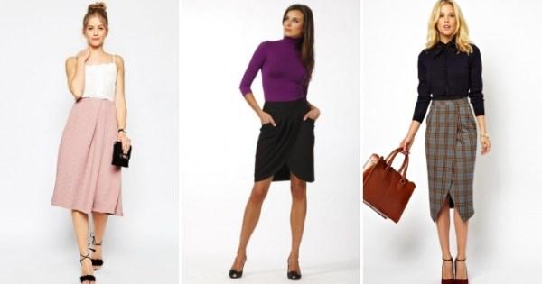 Фасоны юбок с запахом, описание и фото моделей - Ателье Корона