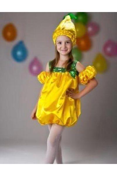 Костюм груши для девочки и мальчика своими руками: костюм ...