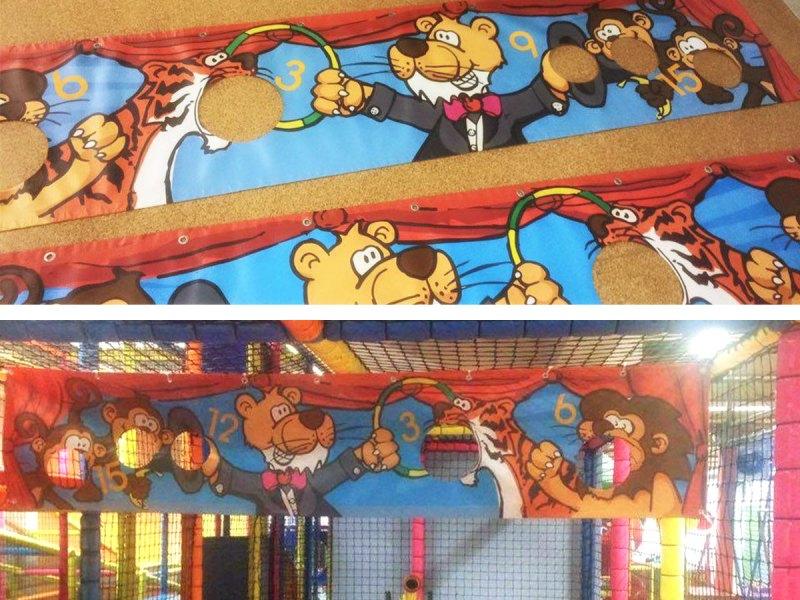 Elevenpark Zirkus Banner