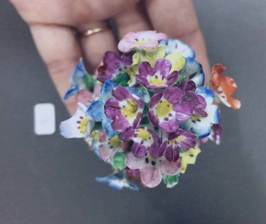 fleurs céramique