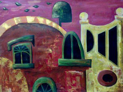 schilderen in acrylverf