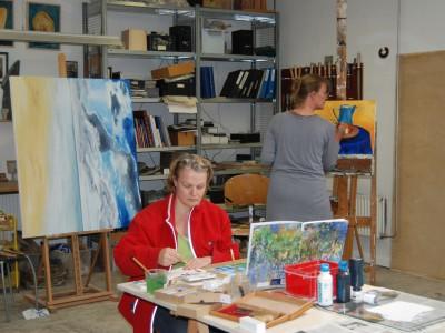 schilderen aquarel