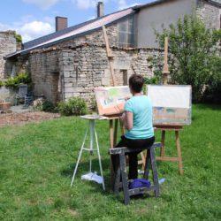 buiten schilderen