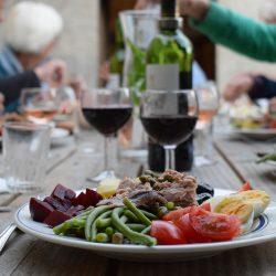 Franse salade Nicoise