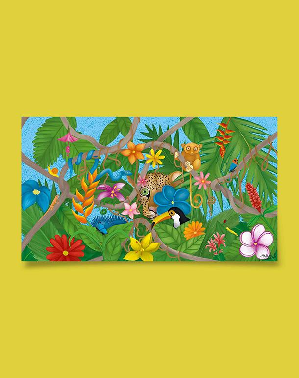 tableau-decoration-originale-enfant-jungle