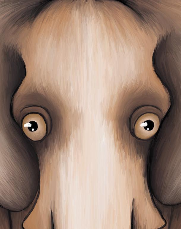 zoom-tableau-affiche-enfant-éléphant-décoration